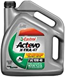 Castrol 10W40 Actevo X-tra 4T Motorcycle Oil - 1 Gallon 3166 (packagin may vary)