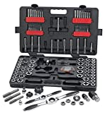 GEARWRENCH 114 Pc. SAE/Metric Ratcheting Tap and Die Set - 82812