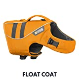 RUFFWEAR - Float Coat Dog Life Jacket for Swimming, Adjustable and Reflective, Wave Orange, X-Large