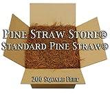 Pine Straw Mulch - Pine Needle Mulch - 200SqFt - 9 Inch Pine Mulch