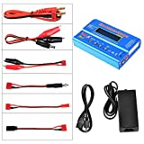jrelecs iMAX B6 OEM Clone Battery Balance Charger for 1-6 Cell Lipo, Li-ion, Life (A123), Pb, 1-15 Cells NiCd and NiMH Batteries with 12V 6A AC Power Adapter