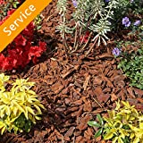 Mulch Delivery and Installation - 2 Cu Yds, Fine