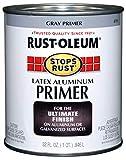 Rust-Oleum 8781502 Stops Rust Flat Aluminum Primer, Quart