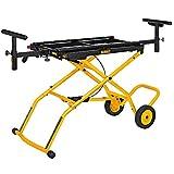 DEWALT DWX726 Miter Saw Stand With Wheels, Yellow