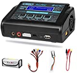 LiPo Charger,Battery Balance Charger Discharger 150W 10A AC/DC for Li-ion/Life/NiCd/NiMH/LiHV/PB/Smart Battery(Battery Charger Adapter)