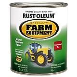 Rust-Oleum 7466502 Specialty Farm Equipment Brush On Paint, Quart, International Red