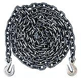 3/8' - Grade 80 Binder Chain - Grab Hooks - 20' Length