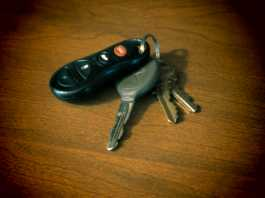 I lost my car keys! What do I do