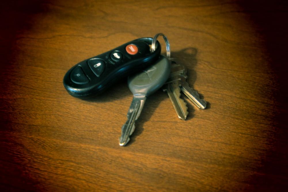 i lost my keys what do i do