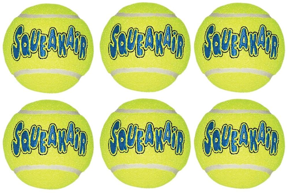 kong squeak air tennis ball review