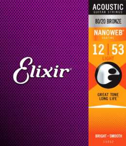 Elixir acoustic guitar strings review