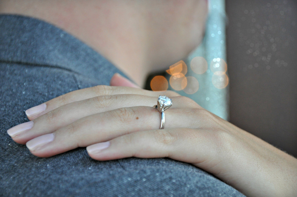 bad credit engagement ring no down payment
