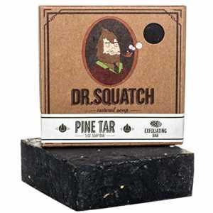 dr squatch pine tar soap